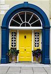 Close-up of doorway, Clonakilty, Republic of Ireland