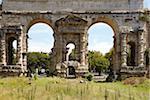 Porta Maggiore, Roman aqueduct, Rome, Lazio, Italy
