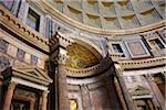 Interior of Pantheon, Rome, Lazio, Italy