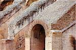 Architectural Detail of Colosseum, Rome, Lazio, Italy