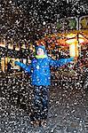 Boy at Christmas market, Bad Toelz, Bavaria, Germany