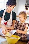 Sisters baking