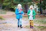 Girls walking together