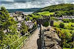 Town Walls, Conwy, Conwy County, Wales, United Kingdom