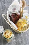 Bottled dry fruits