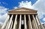 France,Paris. 8th arrondissement. Madeleine Church.