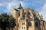 France, Haute Normandie, Seine Maritime (76), Eu, Notre Dame and Saint Laurent church