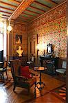 France, Haute Normandie, Seine Maritime (76), Eu, Eu castle, (Louis Phillipe museum) little living room