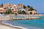 Italy, Sicily, province of Messina, Tusa, Castel di Tusa