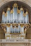 France. Paris 7th district. Invalides. The church Saint-Louis-des-Invalides. The Church of the soldiers. The organ case