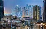 Mongkok apartment buildings, Hong Kong, China