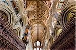 Interior of Ely Cathedral, Ely, Cambridgeshire, England, United Kingdom