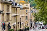 Street scene, Bath, Somerset, England, United Kingdom