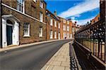 Buildings and street, King's Lynn, Norfolk, England, United Kingdom