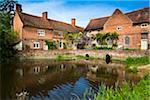 Flatford Mill, Flatford, Suffolk, England, United Kingdom