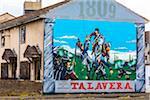 Battle of Talavera Wall Mural, Protestant Royalist Area, Belfast, Northern Ireland, United Kingdom