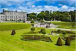 Powerscourt Estate, located in Enniskerry, County Wicklow, Ireland