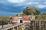 Old Fort (Paleo Frourio), UNESCO World Heritage Site,  Kerkyra, Corfu Town, Ionian Islands, Greek Islands, Greece, Europe
