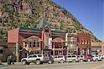 Street Scene, Ouray, Colorado, United States of America, North America
