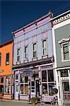Buildings along Main Street, Silverton, Colorado, United States of America, North America