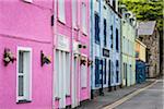 Colourful Buildings, Portree, Isle of Skye, Scotland, United Kingdom