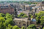 Cityscape of Edinburgh, Scotland, United Kingdom