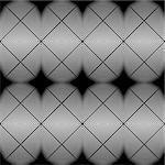 Design seamless monochrome diamond geometric pattern. Abstract grid textured background. Vector art. No gradient