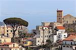 View of Ravello, from Scala, Costiera Amalfitana (Amalfi Coast), UNESCO World Heritage Site, Campania, Italy, Europe