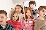 Children protesting