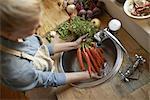 Always wash your vegetables