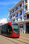 Tram, Casablanca, Morocco, North Africa, Africa