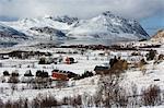 Borg, Lofoten Islands, Arctic, Norway, Scandinavia, Europe