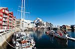 Svolvaer, Lofoten Islands, Nordland, Arctic, Norway, Scandinavia, Europe