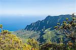 Kalalau Valley, Napali Coast State Park Kauai, Hawaii, United States of America, Pacific