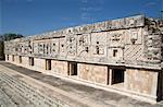 Nuns Quadrangle, Uxmal, Mayan archaeological site, UNESCO World Heritage Site, Yucatan, Mexico, North America