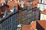 Rooftops,Prague,Czechoslovakian Republic