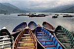 Phewa Tal (Phewa Lake), Pokhara, Gandaki, Western Region (Pashchimanchal), Nepal, Asia