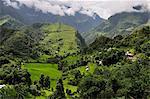 Marsyangdi River Valley, Annapurna Conservation Area, Gandaki, Western Region (Pashchimanchal), Nepal, Asia