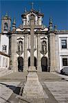 Little church in Guimaraes, UNESCO World Heritage Site, Portugal, Europe