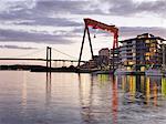 Gantry crane, Eriksberg, Gothenburg, Sweden