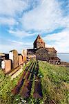Eurasia, Caucasus region, Armenia, Gegharkunik province, Lake Sevan, Sevanavank monastery
