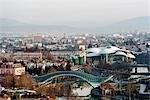 Eurasia, Caucasus region, Georgia, Tbilisi, city view (will add details after edit)