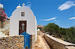 Church in Chora, Folegandros, Cyclades, Greece