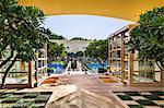 India, Delhi, Gurgaon.  The 5 star Trident Gurgaon Hotel on the outskirts of Delhi.