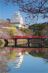 Himeji Castle (UNESCO World Heritage site), Himeji, Kansai, Honshu, Japan