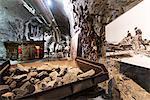 Arctic Circle, Lapland, Scandinavia, Sweden, Kiruna, LKAB mining tour, largest underground iron ore mine in the world