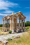 The Tetrapylon or monumental gate way, Aphrodisias, Aydin, Turkey
