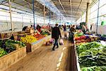 Turkey, Mediterranean region, The Aegean Turquoise coast, Fethiye, fresh produce market
