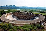 Turkey, Mediterranean Region, Turquoise Coast, Pamphylia, Aspendos 2nd century Roman theatre, built under Emperor Marcus Aurelius
