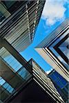 View between Skyscrapers, Brisbane, Queensland, Australia
